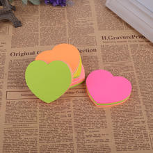 2019 Promotional Custom Heart Shaped Sticky Notes / Sticky Memo Pad maker/posit sticky note