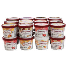 Custom Print Eco Friendly 4 6 8 12 oz Disposable Food Grade Packaging Tub Biodegradable Yogurt Paper Bowl Ice Cream Cup