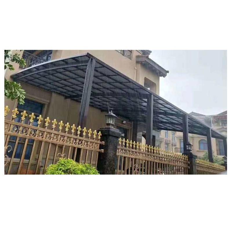 Personalizado para puertas y terrazas comercial policarbonato cochera toldo