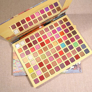 S59 Kosmetik make-up lidschatten-palette multi farbige private label glitter lidschatten palette