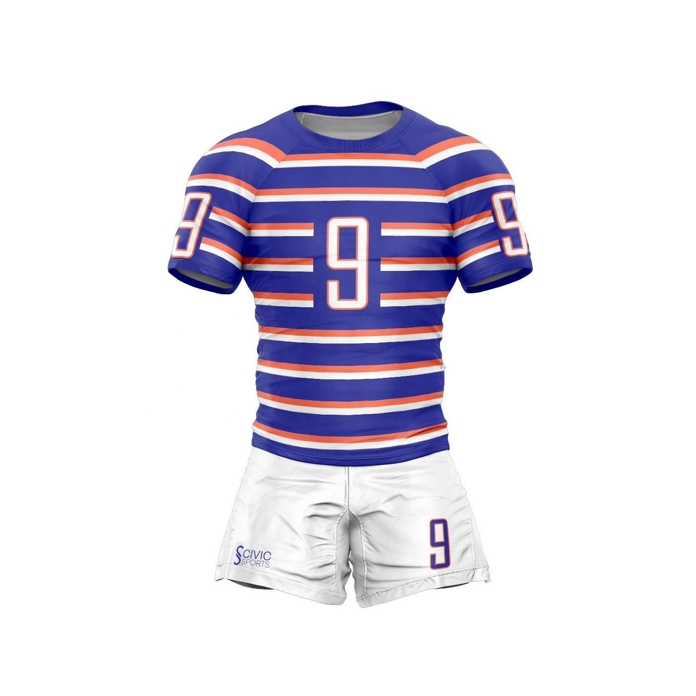 wholesale high quality rugby league jersey professional sublimation custom rugby league jersey rugby uniform