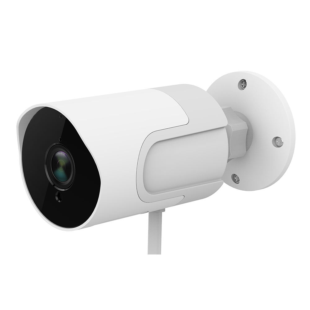 Tuya Outdoor P2P Mini H.264 2MP Wifi IR IP Bullet Camera with Amazon Alexa & Google Home