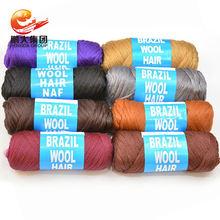 suppliers beyond beauty african hair knitting black acrylic twists 80g brazil brazilian wool yarn hair for braiding