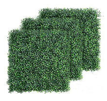 Wholesales artificial plant wall/outdoor green plants vertical wall garden/artificial boxwood hedge