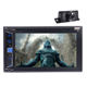 Double 2 Din 6.2 Inch Touch Screen Bluetooth Car CD DVD Player Stereo in Dash Car GPS Autoradio With Camera