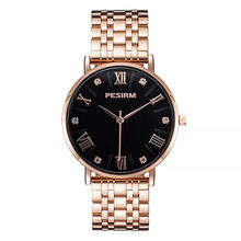 PESIRM DP1903 Rose Gold Stainless Steel Watches For Women