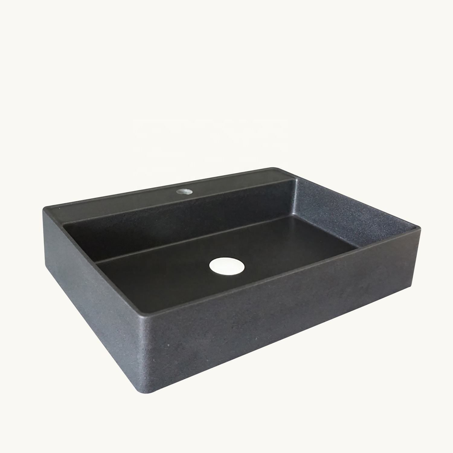 bathroom basin Good Quality Black Artificial Quartz Stone Sink