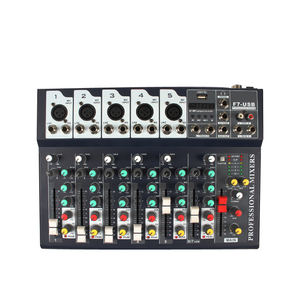 Club music mixer maschine dj system mit usb mp3