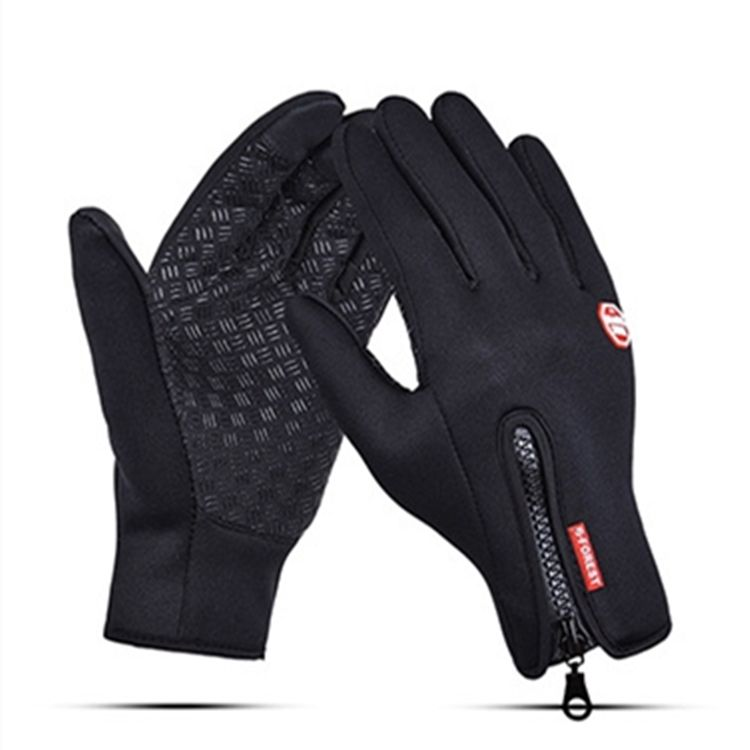 Outdoor Sports Touch Screen Warm Waterproof Cycling Racing Gloves
