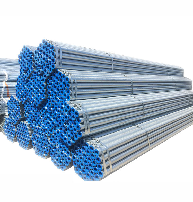 1mm pre galvanized steel pipe galvanized round steel tubes price per kg