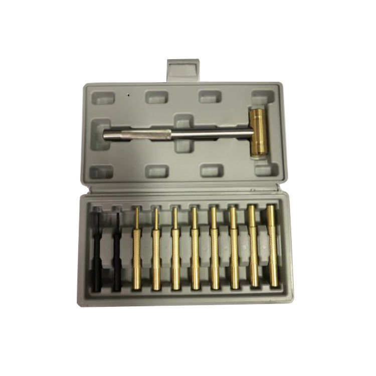 .22 Brass Pin Punchse and Ball Hammer Set Gun Barrel Bore Cleaning Kit Tools