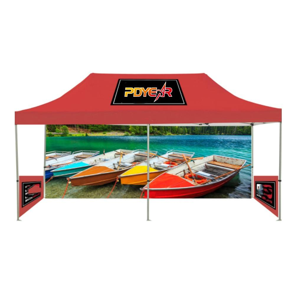 3x6m custom design outdoor event folding printed gazebo canopy tent for trade show