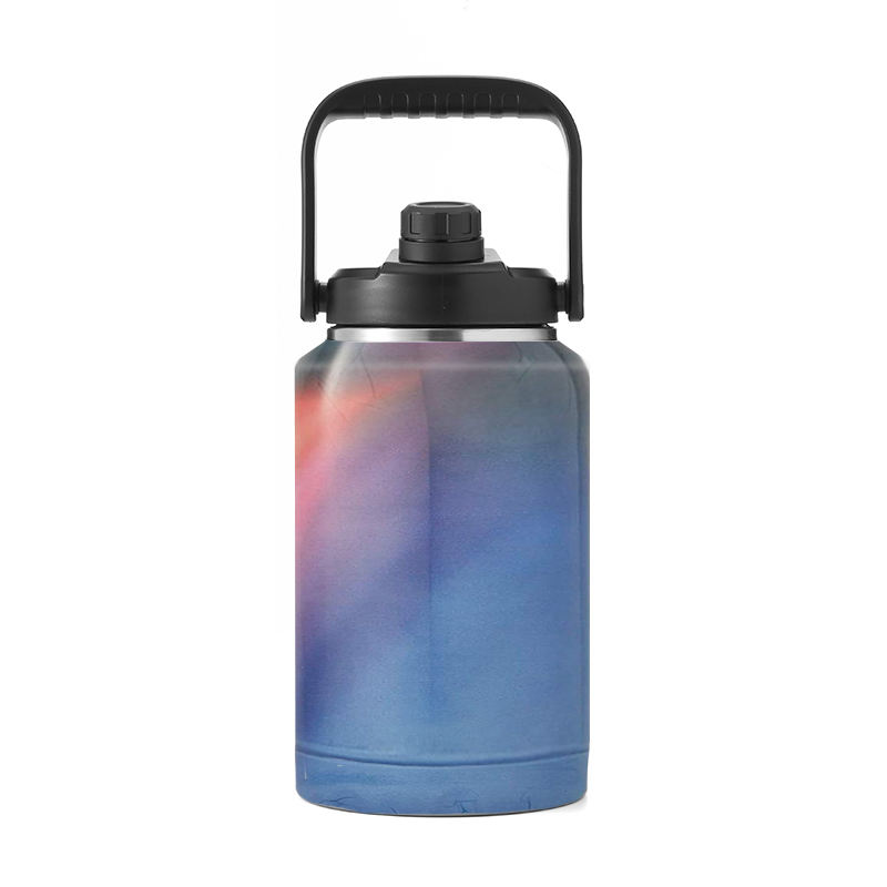 128 oz growler Keg Manufacturer 1 Gallon Stainless Steel Big Water Bottle Beer Wine Thermal Jug Insulated big wine bottle