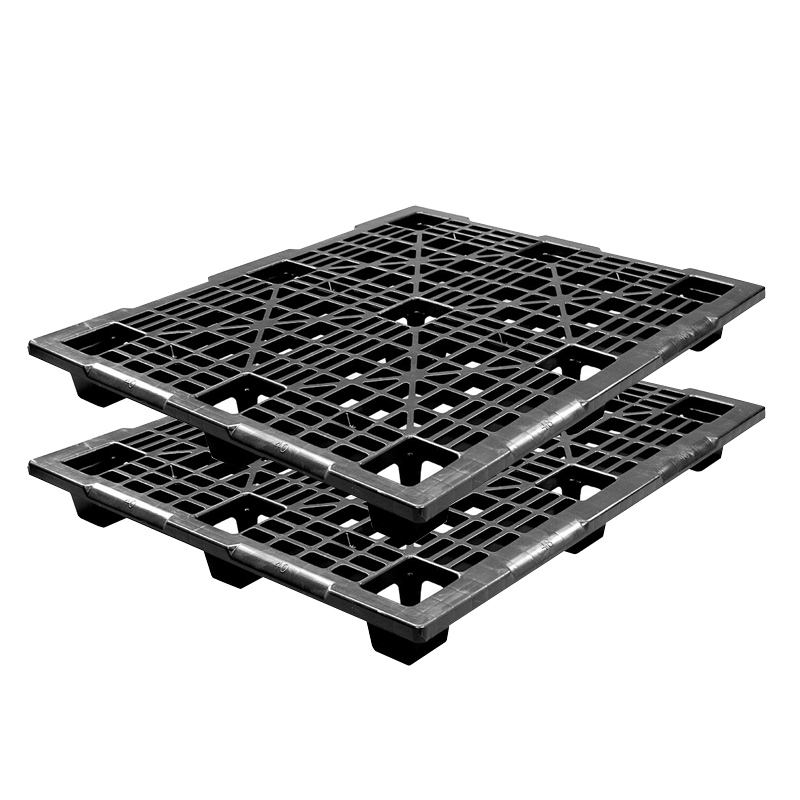 High Quality Cheap Prices Durable HDPE Reinforced Large Black Plastic Pallets For Sale