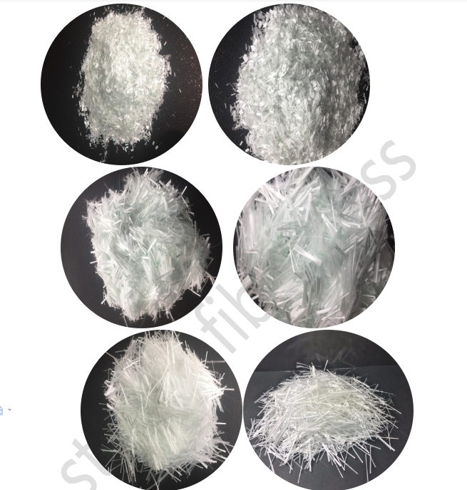 High quality C-glass fiberglass chopped strand 12mm to 24mm