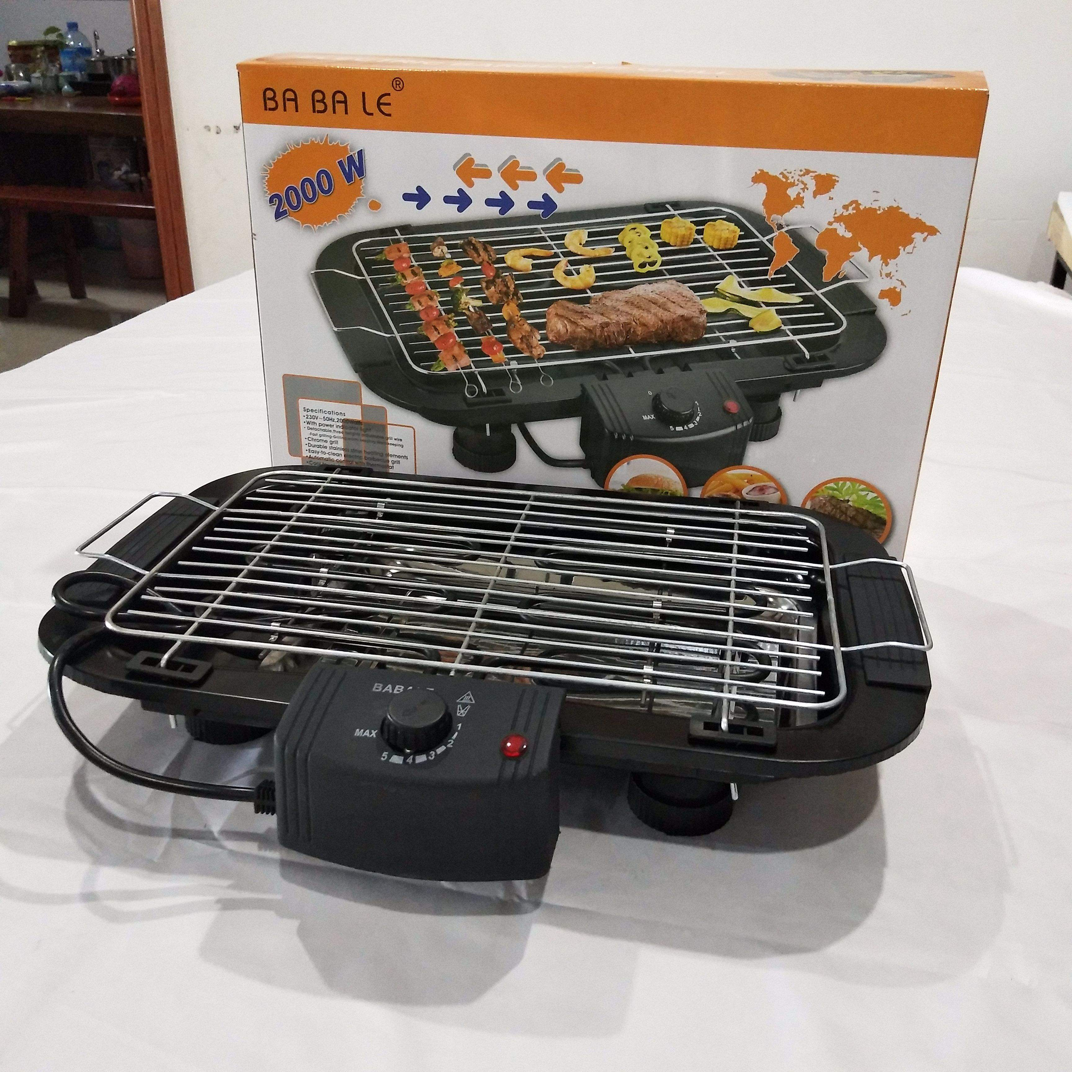 Electric barbeque grill Potable 5 levels electric oven home electric grill