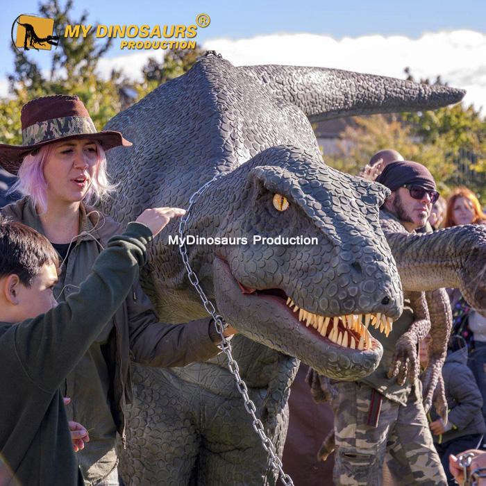 My Dino DZ035 Lifelike Mascot Dinosaur Costume for Events Cosplay