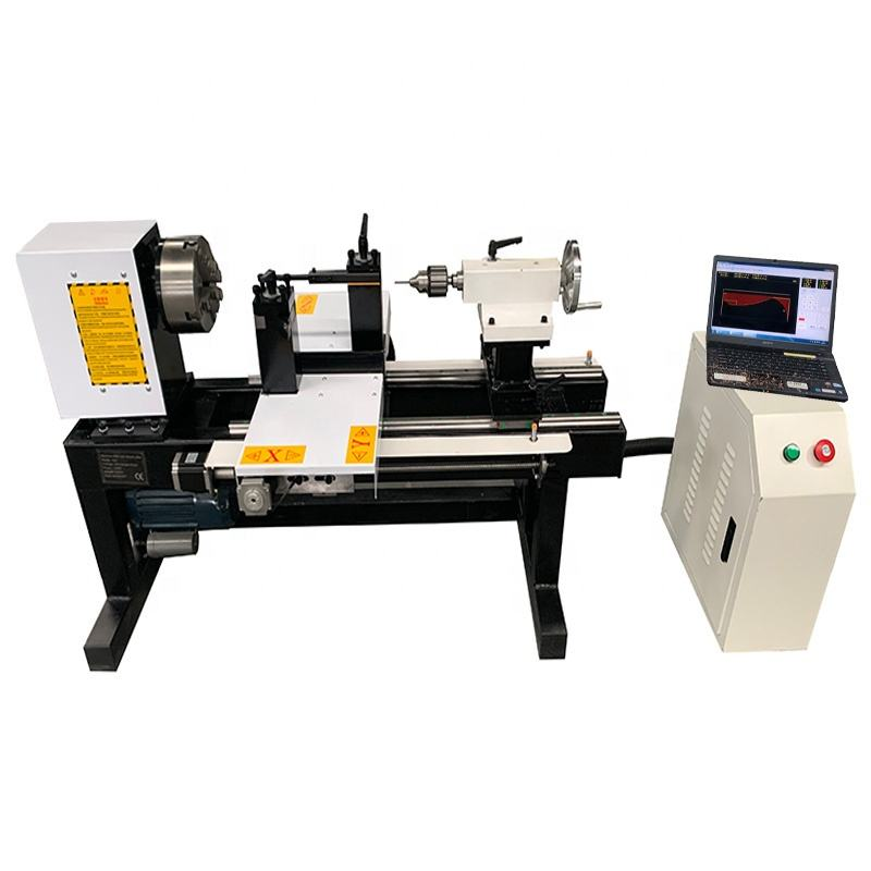 4 axis Multi-functional small mini CNC wood lathe beads making holes drilling machine lathe