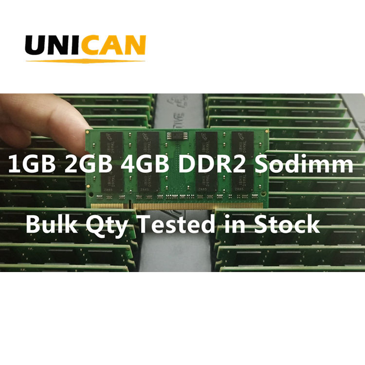 Unican <span class=keywords><strong>Laptop</strong></span> RAM 2GB <span class=keywords><strong>4GB</strong></span> <span class=keywords><strong>DDR2</strong></span> Sodimm PC2-6400 800MHZ Nicht ECC Unbuffered Speicher Modul