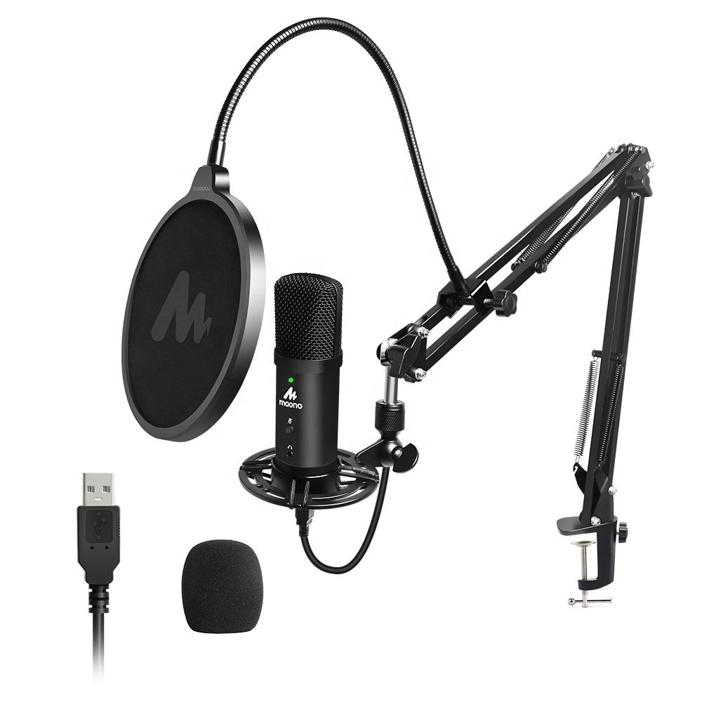 MAONO Professional Microphone Braodcast Usb Connection usb Studio Microphone