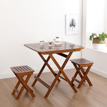 Coffee table sets bamboo  foldable snack table/Tea&coffee table/Folding desk for study/Home
