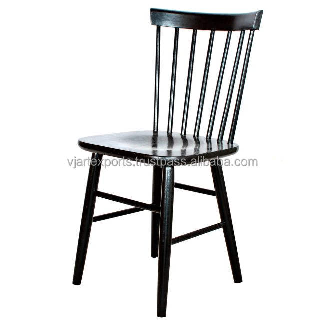modern solid wooden high back simple antique design cafe hotel salon restaurant party event kitchen wedding Windsor dining chair