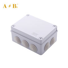 Electric Outdoor 150*110*70mm Size Plastic IP56 Waterproof Junction Box For Industrial