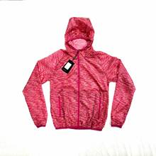 100% polyester light weight colorful windbreaker with hood stocks, hooded skin jacket stocks