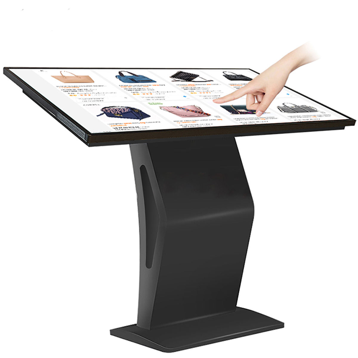 lcd digital signage self service kiosk interactive kiosk touch screen kiosk prices