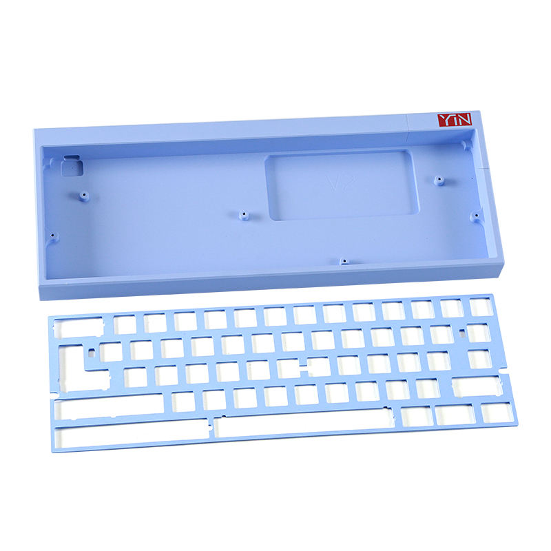 frase diy milling service machine parts 65 aluminum mechanical keyboard cnc mechanical keyboard case