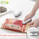 Household portable mini heat sealing machine for sealing food packaging bag
