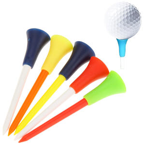 Wholesale Durable high quality Plastic Golf Pegs 83mm golf tee height control golf tees