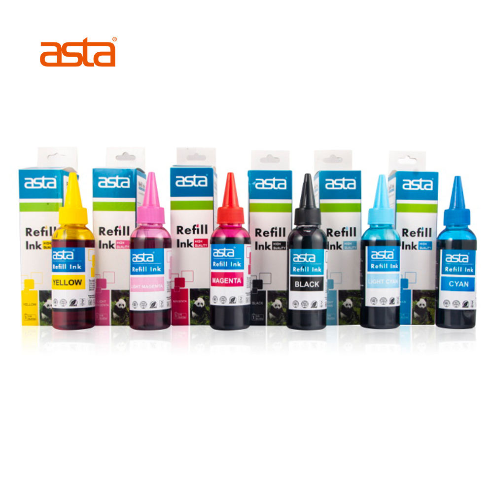 ASTA 1000ml Compatible Refill Printing Color Universal Premium Dye Sublimation Ink For Epson Canon HP Brother Inkjet Printer