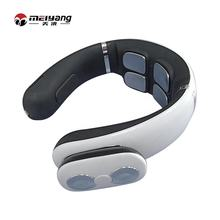 Meiyang 3D heated car vibrating shiatsu pulse electric neck massager