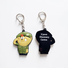 Customized promotional Cute Soft PVC Rubber Key Ring Key Chain Keychain, Rubber Keyring, Silicone Key Chain
