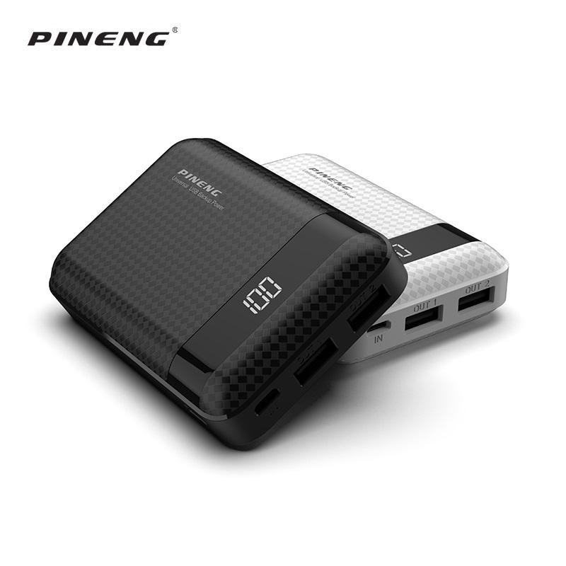 PINENG Cheap Dual USB portable usb 10000mah portable mini power bank
