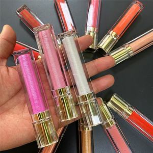 Wholesale glossy lipgloss colors high quality vegan glossy private label lip gloss