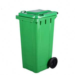 New Condition household 240L big dustbin with wheels paddle sale price