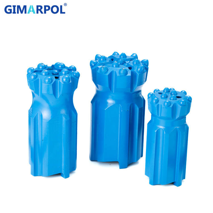 115mm T45 Thread Button Bit Thread Drill Bit Rock Drill Bits with Long History in China