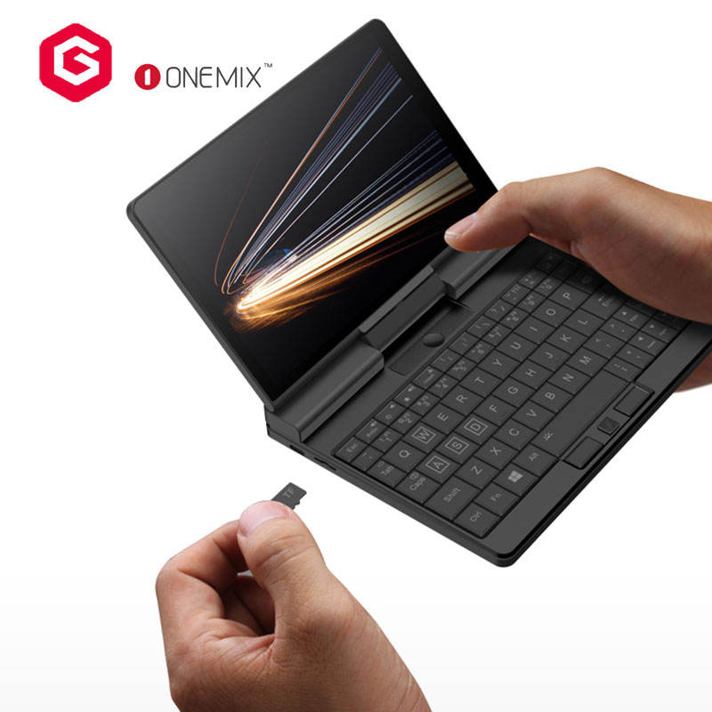One-netbook OneMix A1 intelcore capacitive touch screen 8G 256GB SSD support stylus 7 inch mini laptop netbook