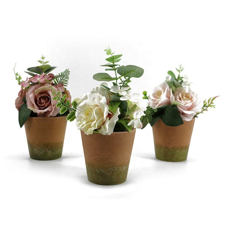 Wholesale indoor outdoor buy online decoration recycled plastic china plants artificial flowers and plants