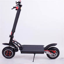 Manufacturer wholesale adult use 2 wheels foldable electric scooter with dual motor 1600W max speed 55km/h