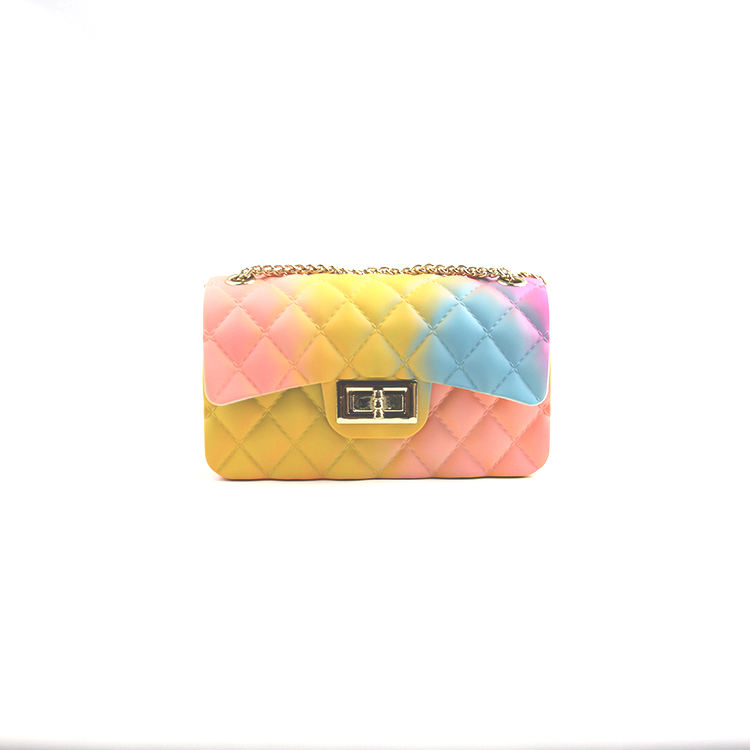 Hot Sale New Design PVC Mini Kids Colorful Purse For Girls