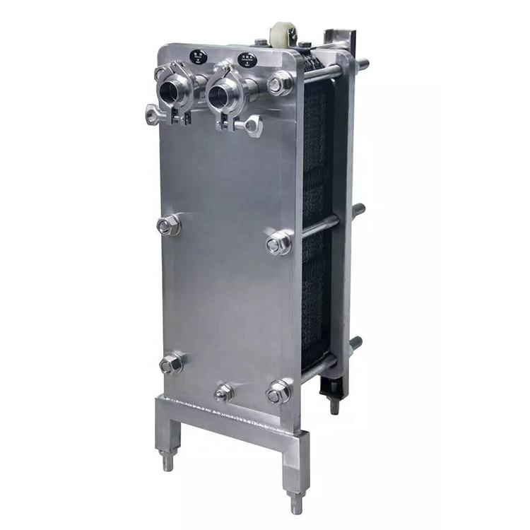 High Quality Sanitary Stainless Steel Plate Heat Exchanger For Milk Pasteurization