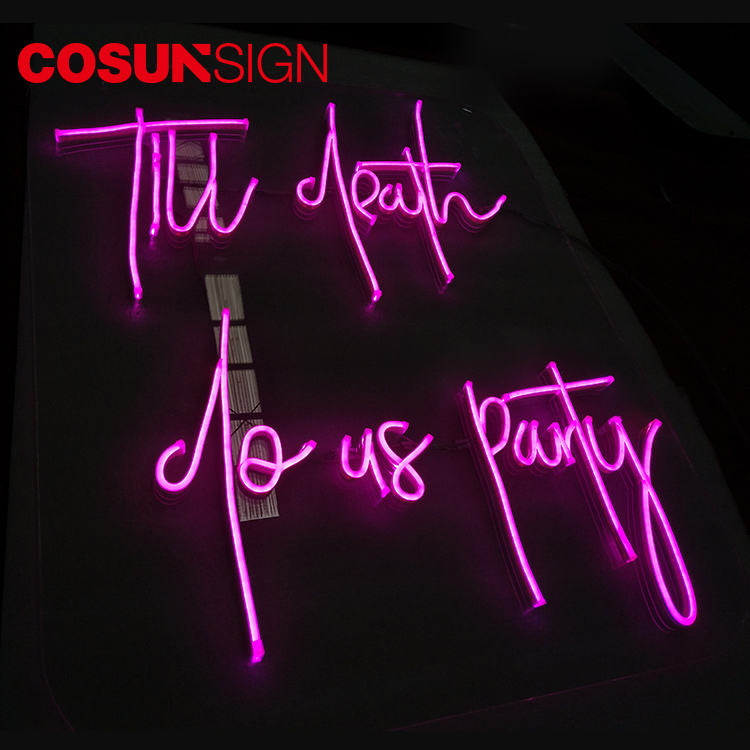 Outdoor custom neon sign led car manufactures