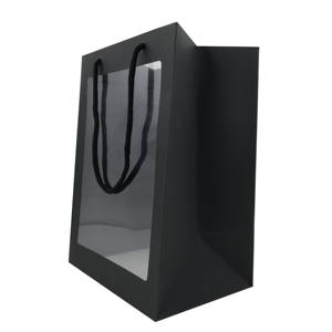 Wholesale Black Luxury Paper Bags And Boxes With Your Own Logo