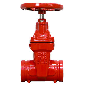 Soft Seal Gate Valve Electric Ductile Iron Fire Fighting Water Gate Valve DN80 PN16 QT450