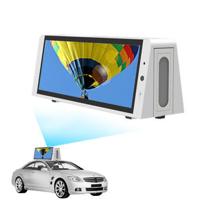 Wasserdichte Digital Android Moving Auto 4G Lcd Signage Video Player Lieferant Werbung Bildschirm Taxi Top Led Display