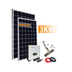 Y.S103 Fair Price 2KW 3KW Home Solar System Complete Set Grid Connected Solar Panel Energy Tiny Station