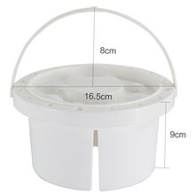 Multi-fuction paint brush wash pot lid with brush carrier